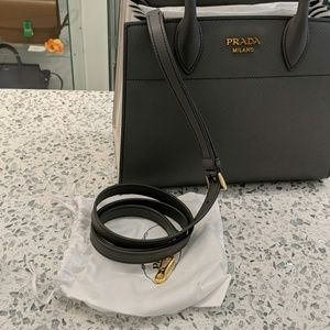 83fa01c7c6ed Prada Bags - Small Bibliothèque Saffiano Accordion Tote Bag